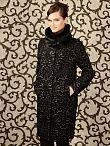 Пальто женское цвет серо-синий, пальтовая ткань, артикул 1013191p10267