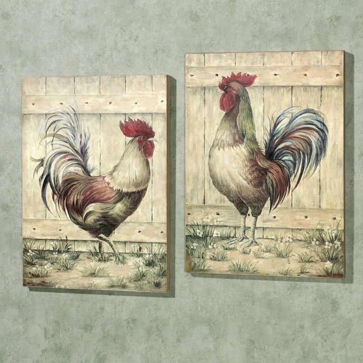 French Country Rooster Decor