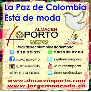 La Paz De Colombia Está De Moda | Jorge Moncada Angel