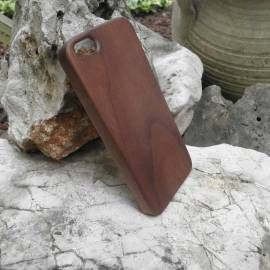 Cover in legno di palissandro ultrasottile per iphone 5/5s