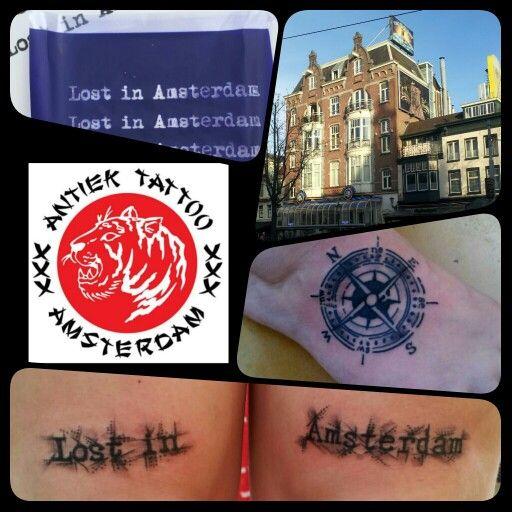 En Antiek tattoo Ámsterdam