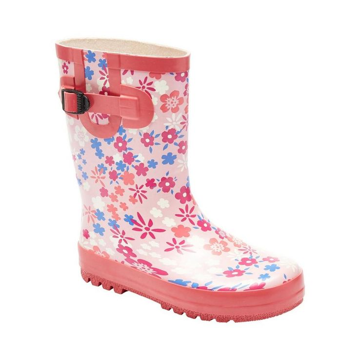Girls' Buckle Rain Boots for $14.97