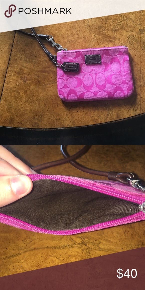 Coach Clutch Slightly used Coach Clutch! Coach Bags Clutches & Wristlets