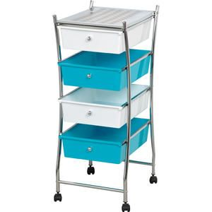 37 best images about salon storage on pinterest salon for Ikea metal cart with drawers