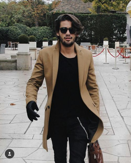 The menstyle blog • LOOK. Renan Pacheco has a cool style in black and...