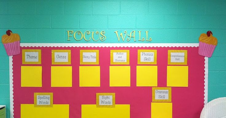The biggest accomplishment so far is the focus board. Which is good, because this is the biggest and most important board in my classroom. ...