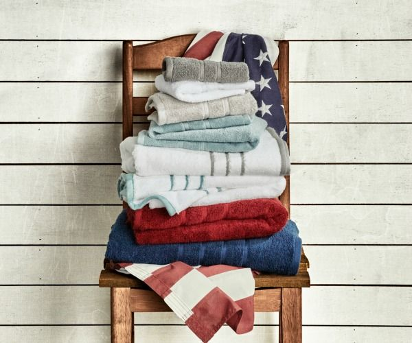 Made in USA Enter to win an American Made towel set from 1888 Mills. Think globally and locally all at once. This luxury line is manufactured in Georgia. Read more.