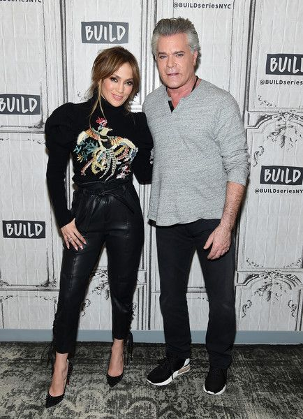 "Jennifer Lopez Photos Photos - Jennifer Lopez and  Ray Liotta visit the  Build Series Presents Jennifer Lopez And Ray Liotta Discussing ""Shades Of Blue"" at Build Studio on March 2, 2017 in New York City. - Build Series Presents Jennifer Lopez and Ray Liotta Discussing 'Shades of Blue'"
