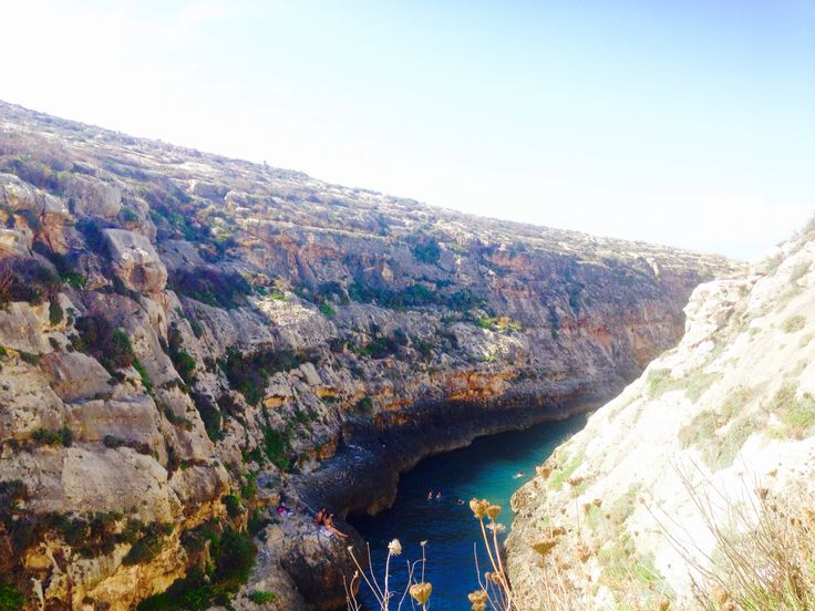 one of the many bays in Gozo