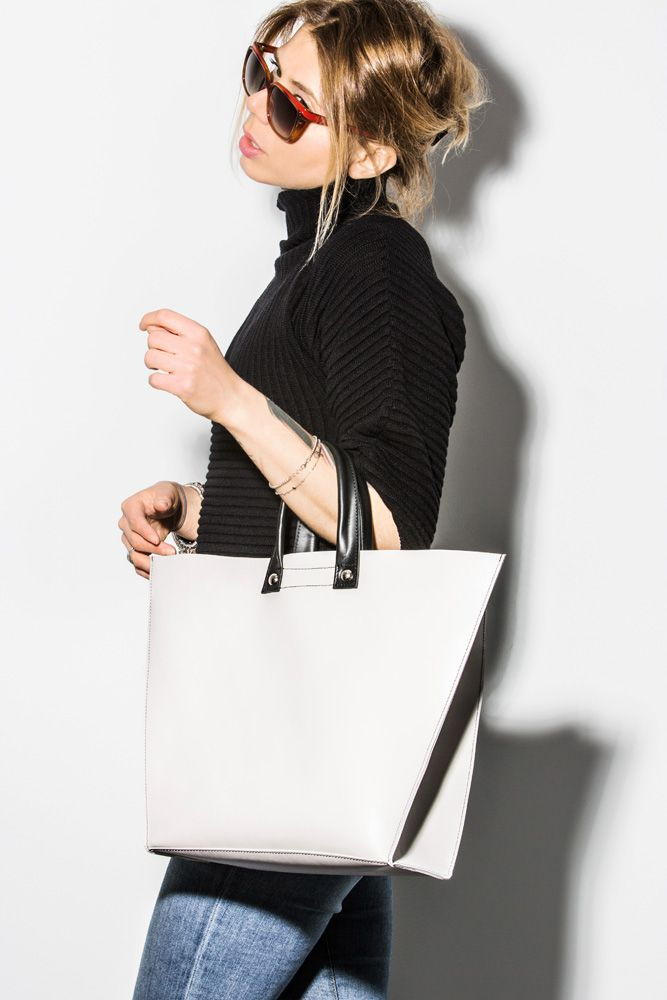 Simplicity first...Ivory Bag from #zayder