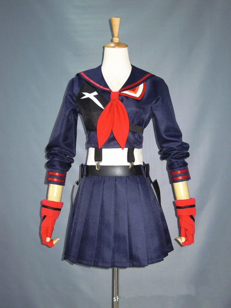anime cosplay dress suit