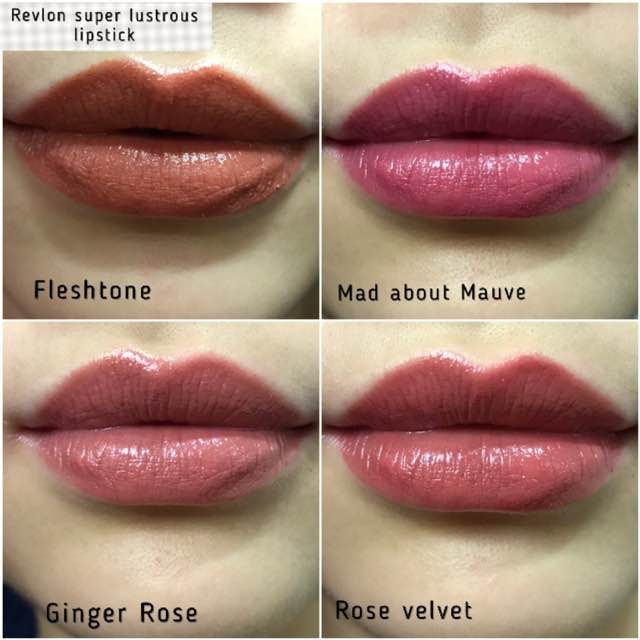Revlon Super Lustrous Lipsticks Rose Velvet Revlon Super