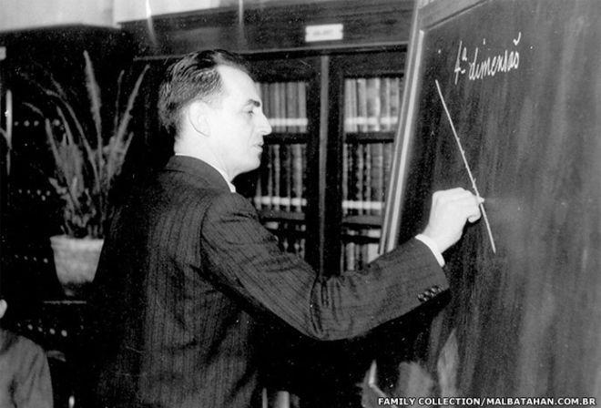 the man who counted author Julio Cesar de Mello e Souza - who wrote under the pen-name Malba Tahan