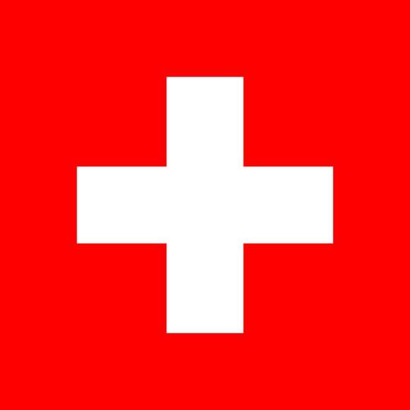 Drapeau et armoiries de la Suisse