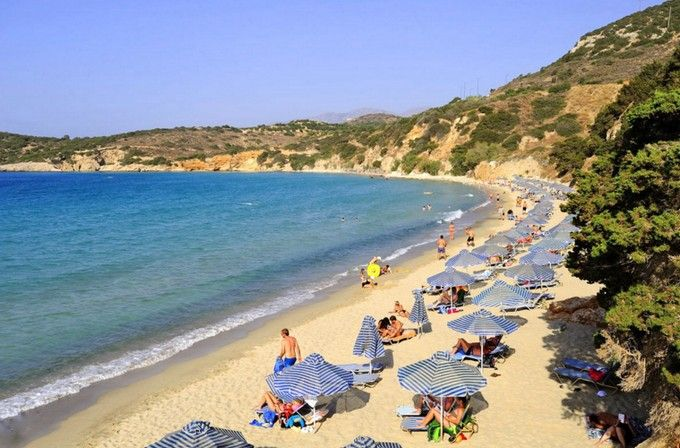 Milatos beach, Lassithi