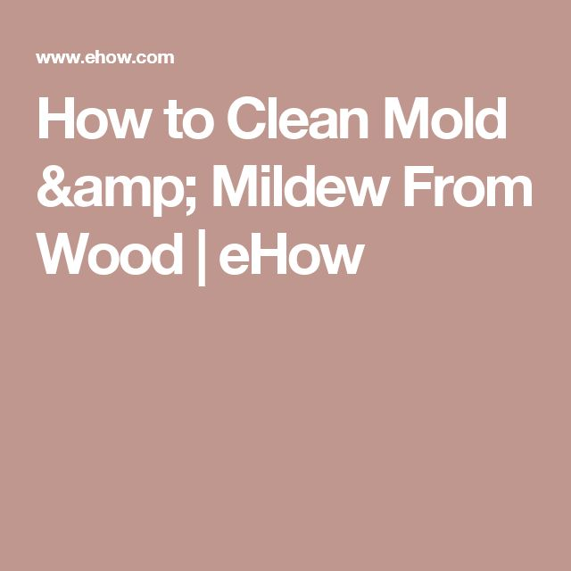 how to remove mold from clear silicone