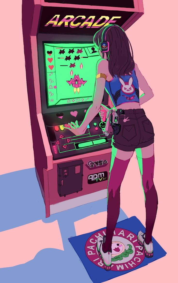 D.VA playing games and I bet she is winning it with ez