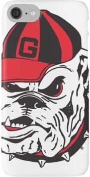 UGA Bulldog  iPhone 7 Cases
