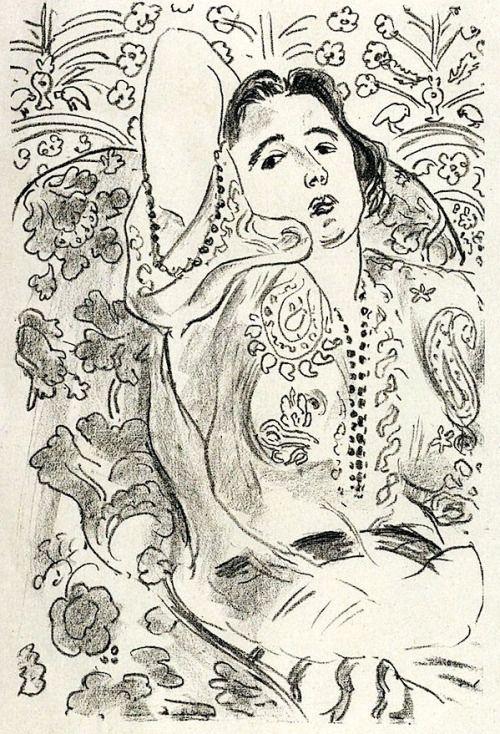 Arabesque / Henri Matisse - 1924 via waldeinsamkeiten