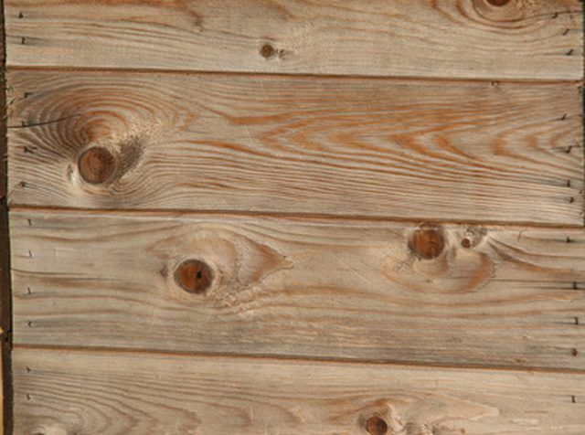 Aged Wood Has Character To Spare And Adds An Authentic Note To Rustic Decor When Real Barn Wood Is Over Budget Or Staining Pressure Treated Wood Staining Wood