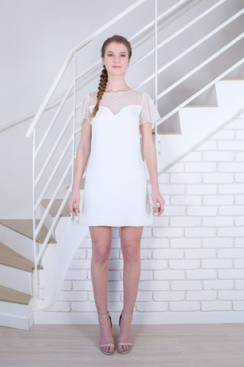 Mariée De Blanc Cassé 2019Robes Léopoldine White En Robe Dress m8wNv0nO
