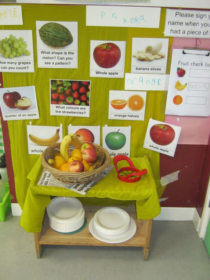 Help yourself snack bar at KU Stourton to encourage independence and self-regulation