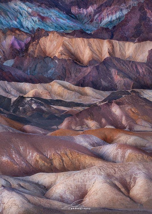 Twenty Mule Team Canyon, Death Valley National Park, CA
