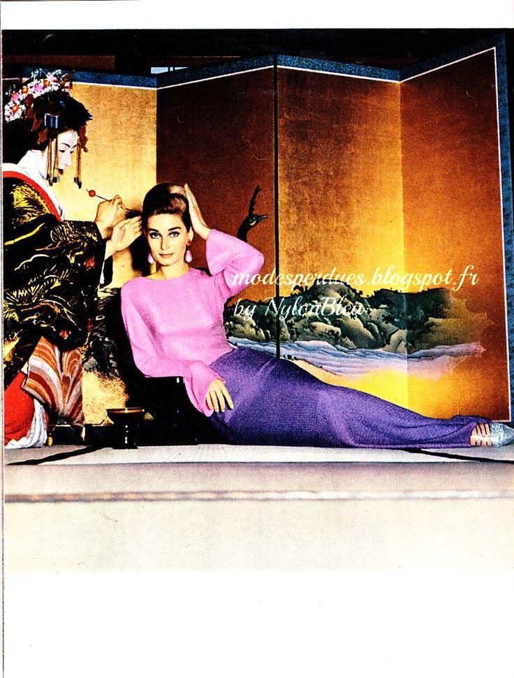 jardin des modes aout 1962 chloe pinterest jardin de jardins et mode. Black Bedroom Furniture Sets. Home Design Ideas