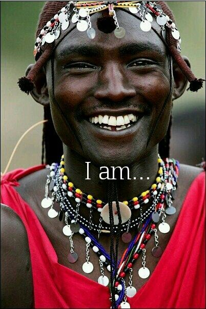 A Central African man