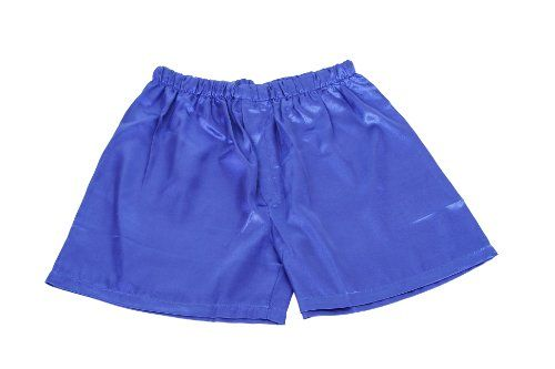 Men's Blue Satin PJ Boxers