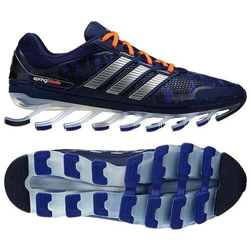 If you haven't seen the new adidas Springblade running shoes or heard about  them from a friend, you have to take a minute right now to check these  babies ...