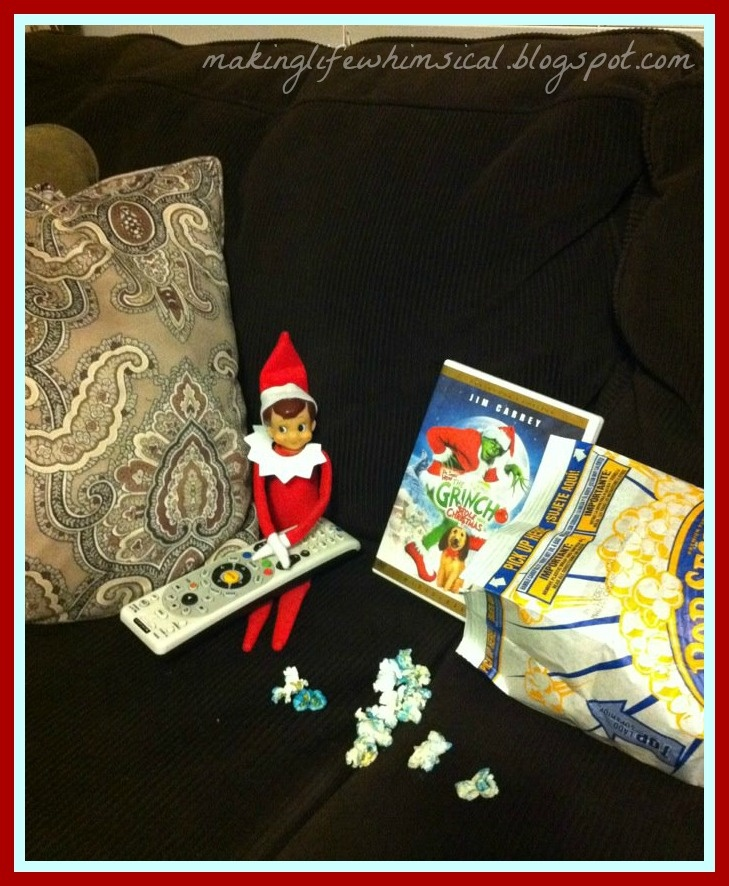 Tons of elf on the shelf ideas-#MakingLifeWhimsical