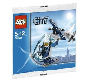 Lego City Police Helicopter 30222 by LEGO. $5.95. Lego City Police Helicopter 30222. New!! Lego City Police Helicopter 30222