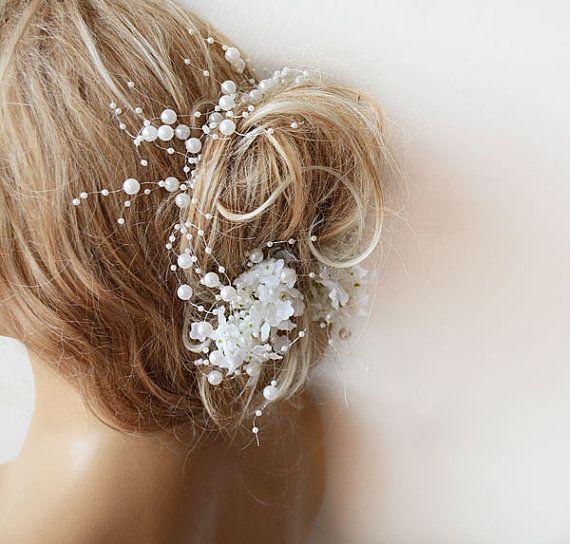 Wedding Pearl Flower Crown Wedding Pearl headband by ADbrdal, $36.00