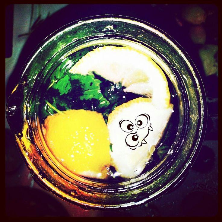 Water white menta & lemon