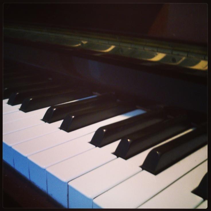 El piano, mi aliado desde pequeña