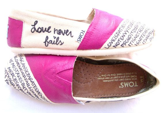 These TOMS I would wear every day.