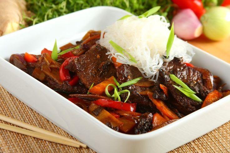 Sprawdzony przepis na Bo rau thap cam - Wołowina w warzywach po wietnamsku…