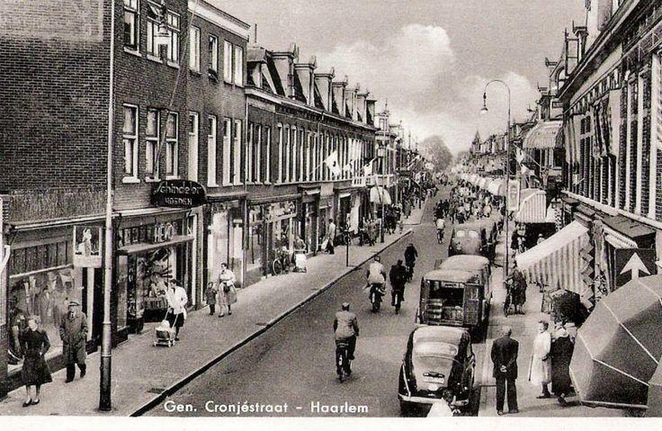 Cronjéstraat Haarlem (jaartal: 1950 tot 1960) - Foto's SERC
