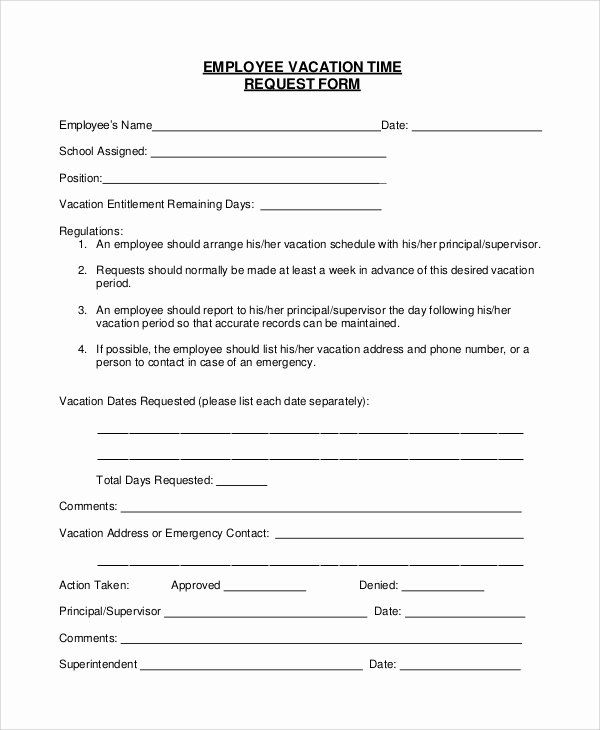 Position Requisition Form Template Awesome Sample Vacation Request Form 8 Examples In Pdf Word Sample Resume Microsoft Word Templates Word Template