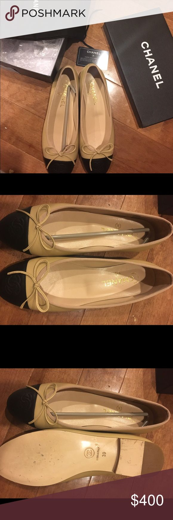 Shoes Chanel I wore it for not longer than 10 minutes. It hurt my foot caz it was way small for me. CHANEL Shoes Flats & Loafers
