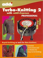 ADDI BOOK Turbo Knitting 2 for Express machine 16 patterns / instructions 996-0