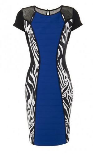 Dress for Women, Evening Cocktail Party On Sale in Outlet, Royal Blue, polyester, 2017, 12 Joseph Ribkoff