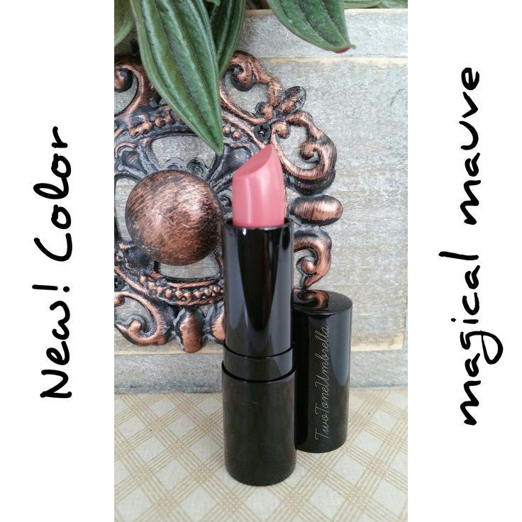 Magic on your lips.   Lip Color - Magical Mauve www.twotoneumbrella.com