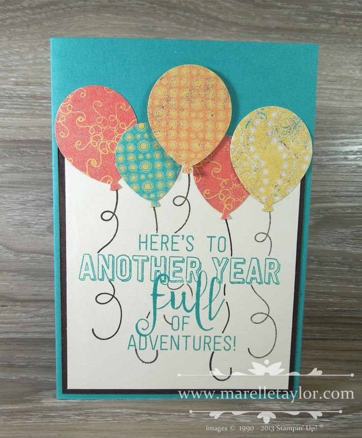 796 best Birthday Cards - Balloons images on Pinterest Anniversary