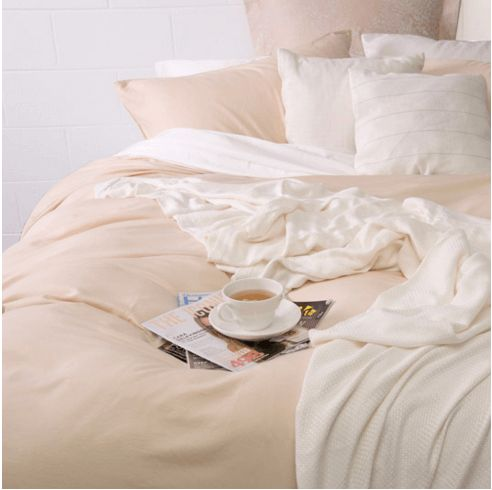 Bamboo Quilt Cover sets. Quilt comes with matching standard pillowcases. Long-lasting, eco-friendly and breathable.