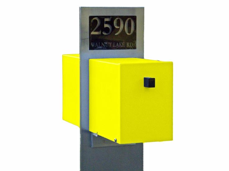modern mailbox - Modern Mailboxes
