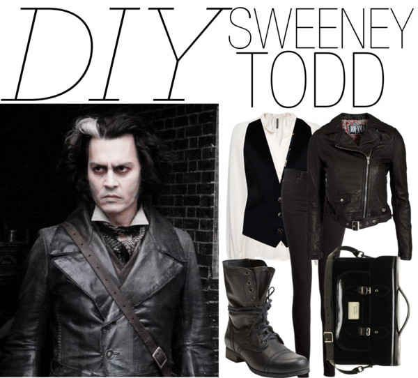 Sweeney Todd | 25 DIY Halloween Costumes Guaranteed To Keep You Warm