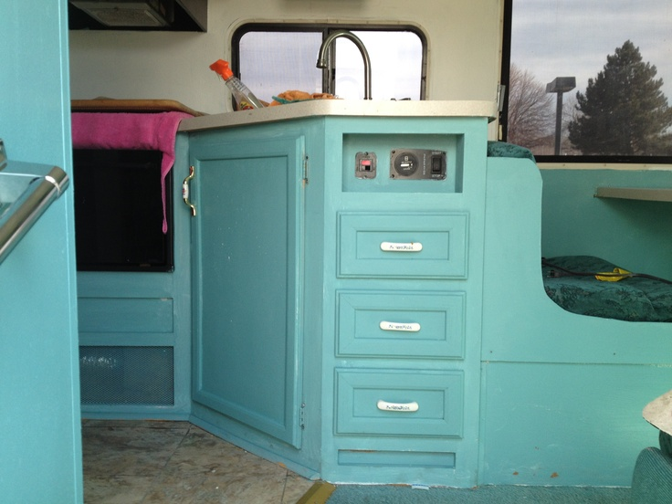 Rv Makeover With Annie Sloan Paint Rv Makeover