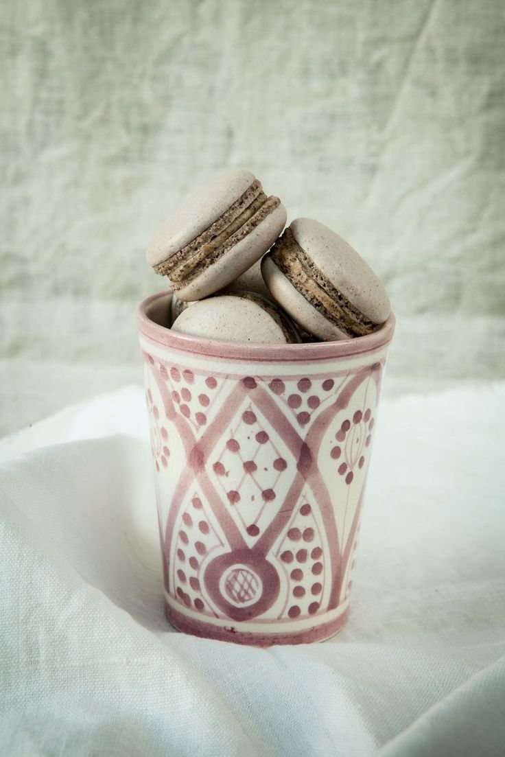 Licorice Macaron - made by mary .